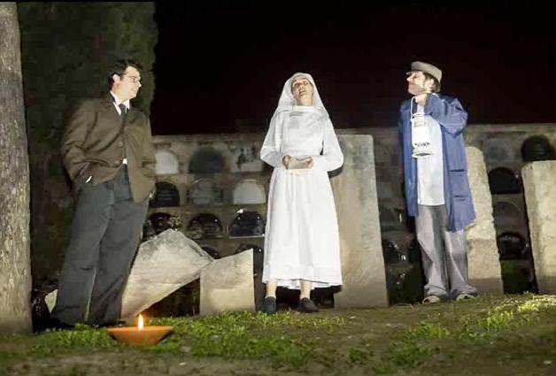 Visita nocturna teatralizada Cementerio Vilafranca del Penedès