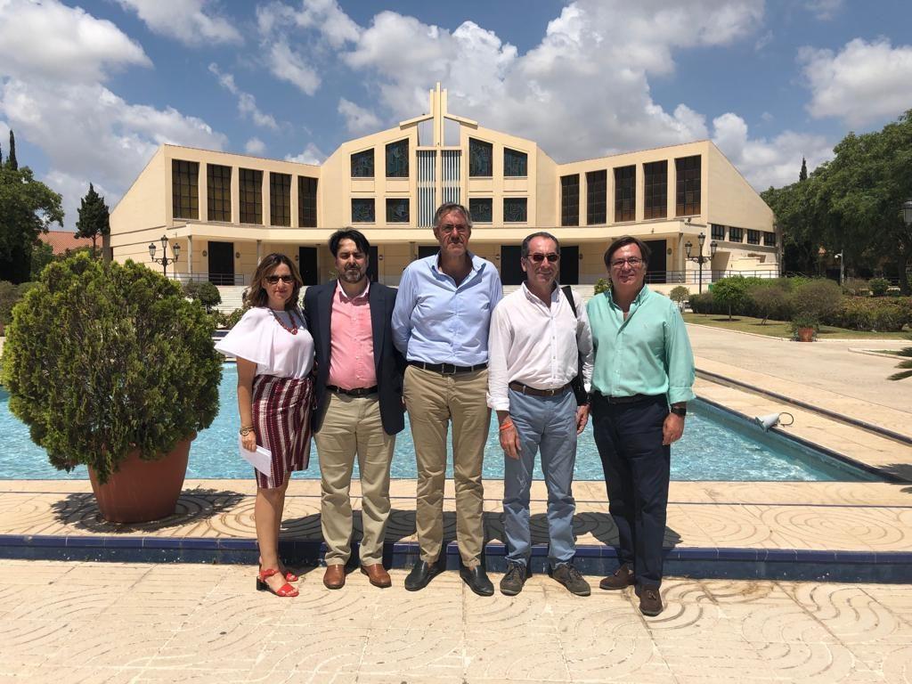 Visita presidente CECOSAM a PARCEMASA
