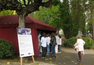 Exposición Cementerio de Terrassa 2019