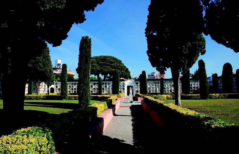 Panorámica Cementerio Caputxins Mataró