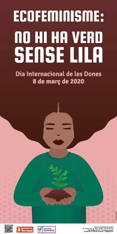 Cartel actividades Ecofeminismo