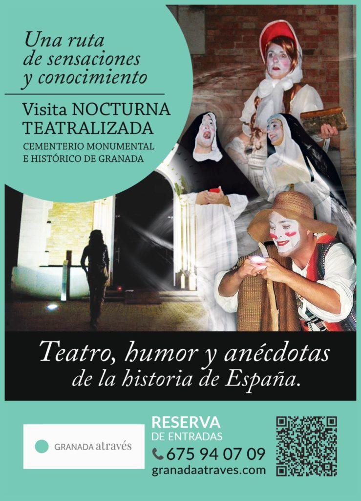 Poster visita Cementerio Granada